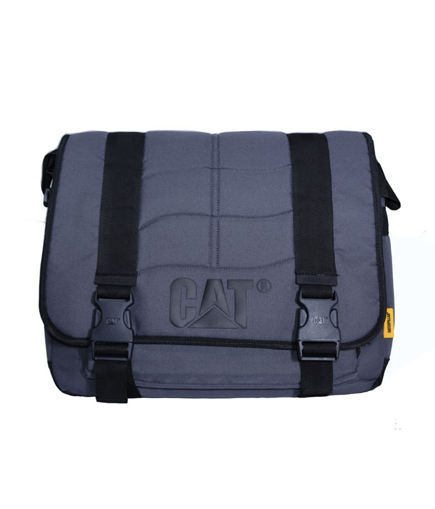 Cat Gray Laptop Bag