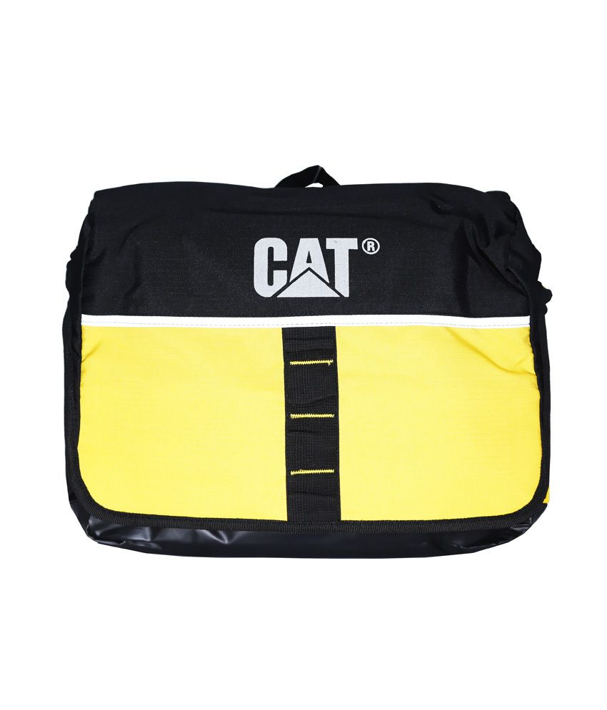 Cat Yellow Laptop Bag