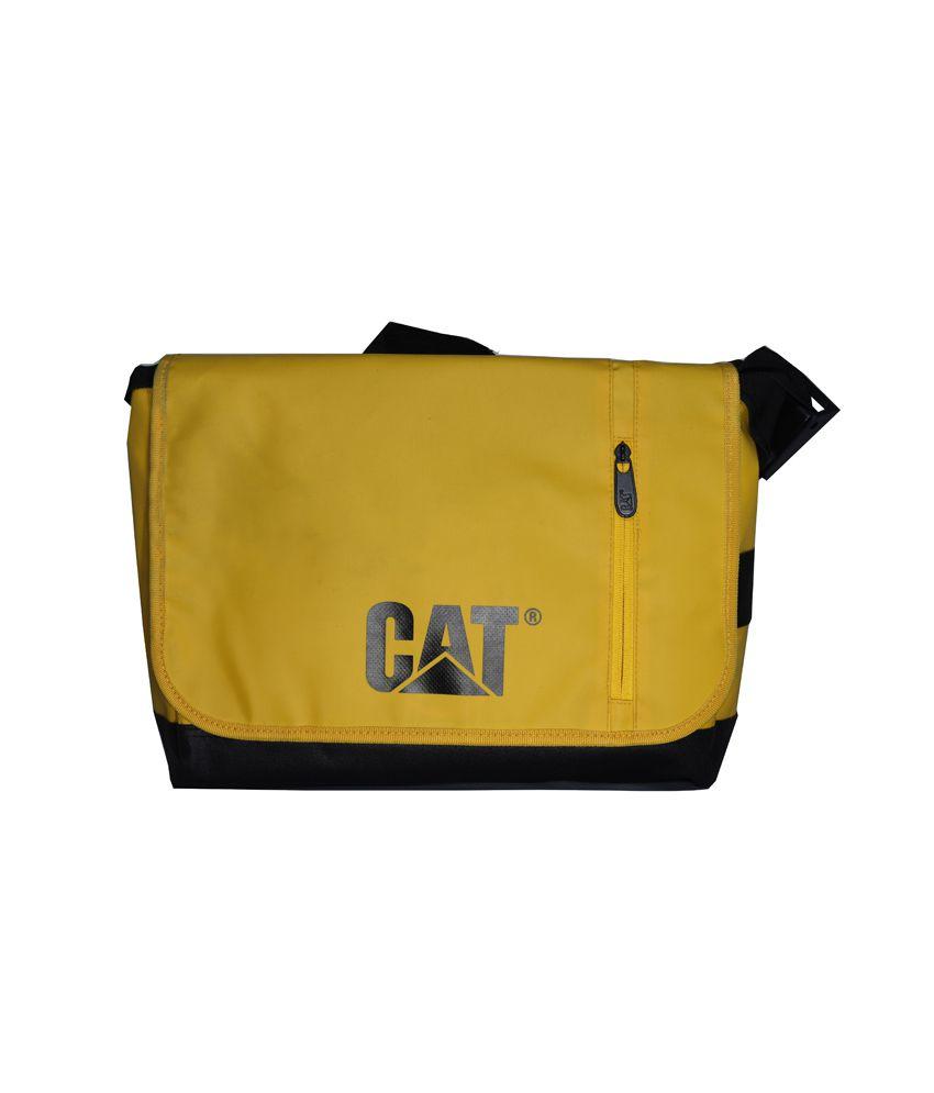 Cat Yellow Laptop Bag