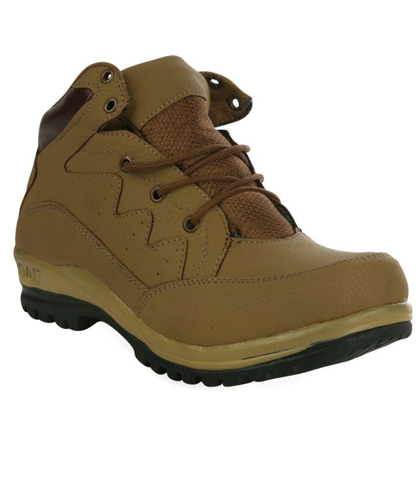 Shoe Island Khaki Boots