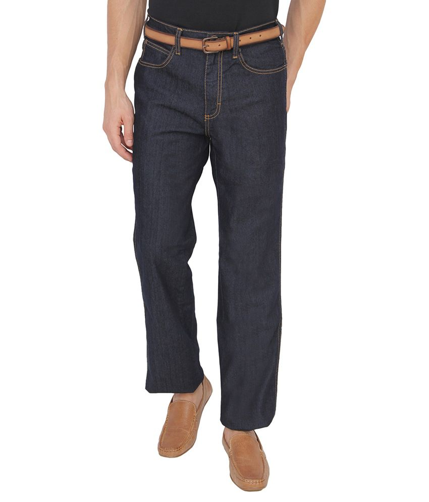 Wrangler Black Regular Fit Jeans