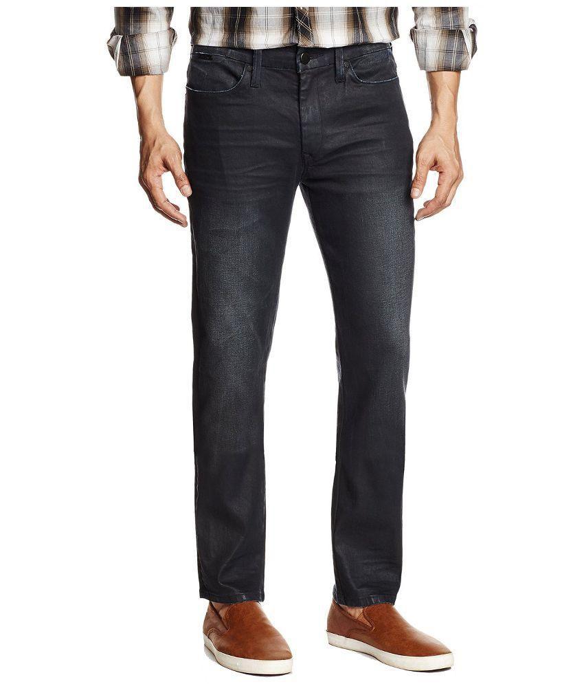 Braand Republic Black Slim Fit Jeans