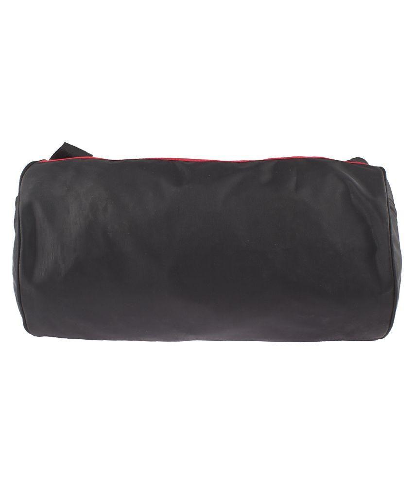 37dadc48c1bec8 Kvg Black & Red Gym Bag - Buy Kvg Black & Red Gym Bag Online at Low ...