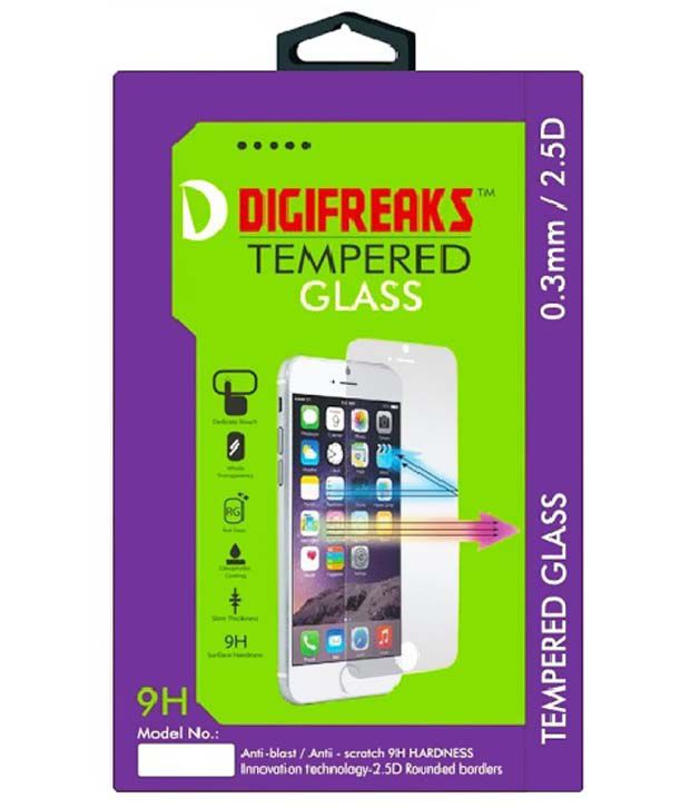 Lenovo K3 Note Tempered Glass Screen Guard by Digifreaks