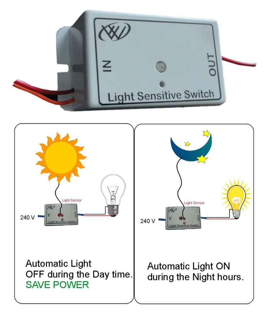 Buy light sensitive switch automatic online