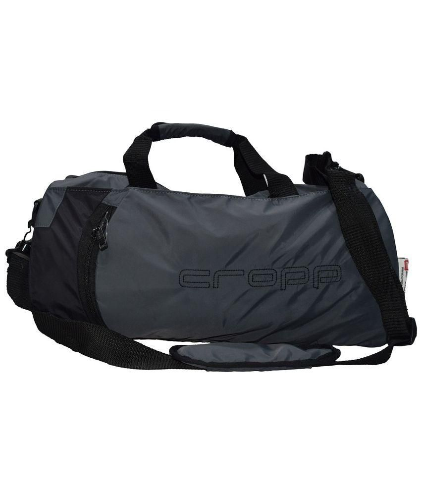 Cropp Grey Medium Polyester Gym Bag