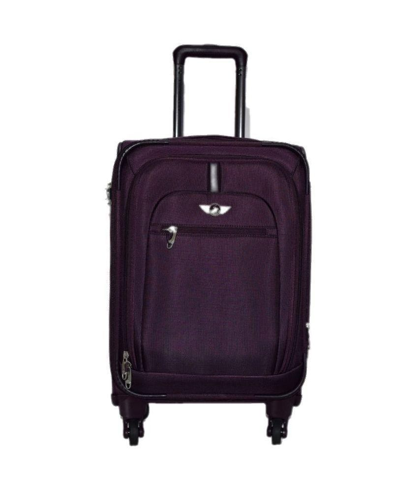 debd96b393e9 Polo House USA Purple 2 Wheel Trolley Bag - Buy Polo House USA Purple 2  Wheel Trolley Bag Online at Low Price - Snapdeal