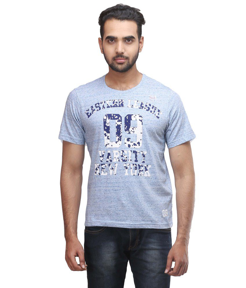 Redtag Grey Polyester T-shirt