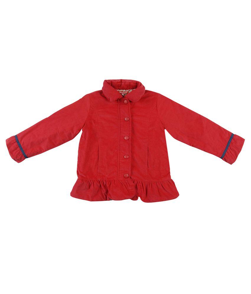 Nauti Nati Red Full Sleeves Jacket