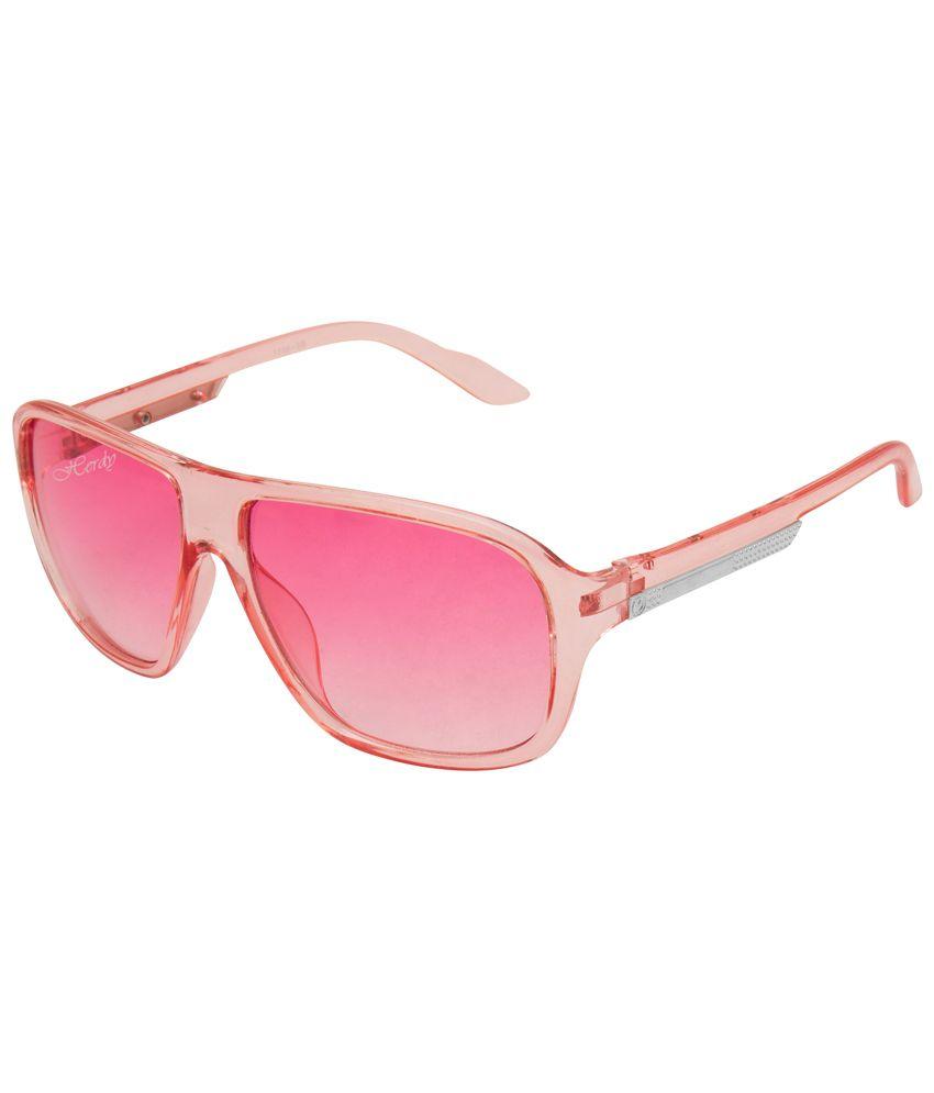 Herdy Pink Medium Women Wayfarer Sunglasses