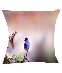 Fairshopping Multicolour Printed Silk Cushion Cover - Set Of 5