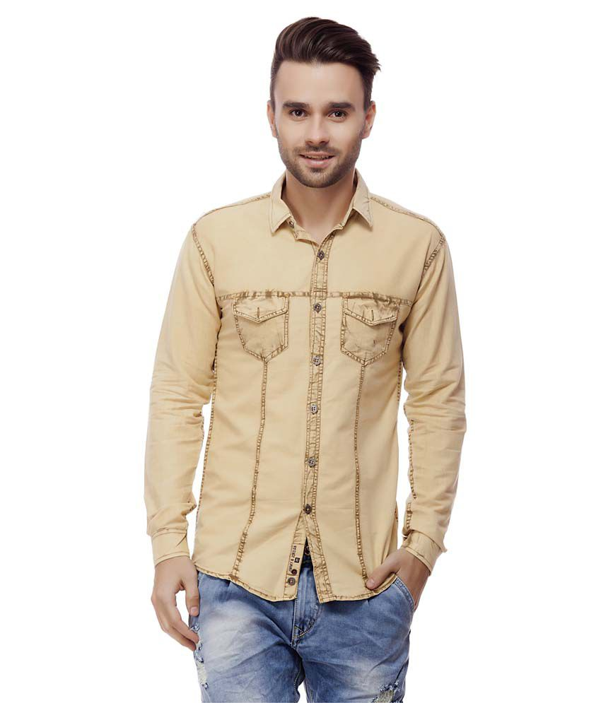 a4903a0cea0b Jimmy And Jordan Beige Casual Shirt - Buy Jimmy And Jordan Beige Casual  Shirt Online at Best Prices in India on Snapdeal