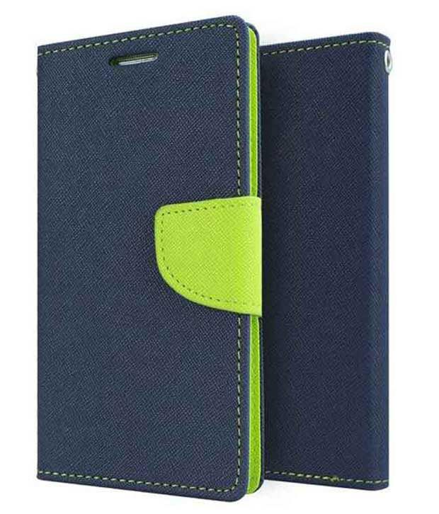 Vcraft Flip Cover Case For Sony Xperia T2 - Blue