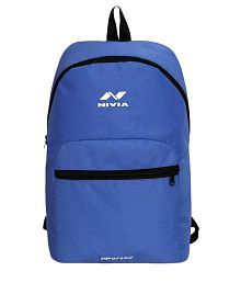 Nivia Beat Blue Polyester Backpack