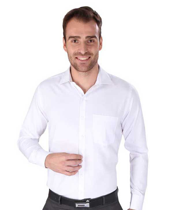 b847c430430f9 Men In Black Fashion White Formal Shirt - Buy Men In Black Fashion White  Formal Shirt Online at Best Prices in India on Snapdeal