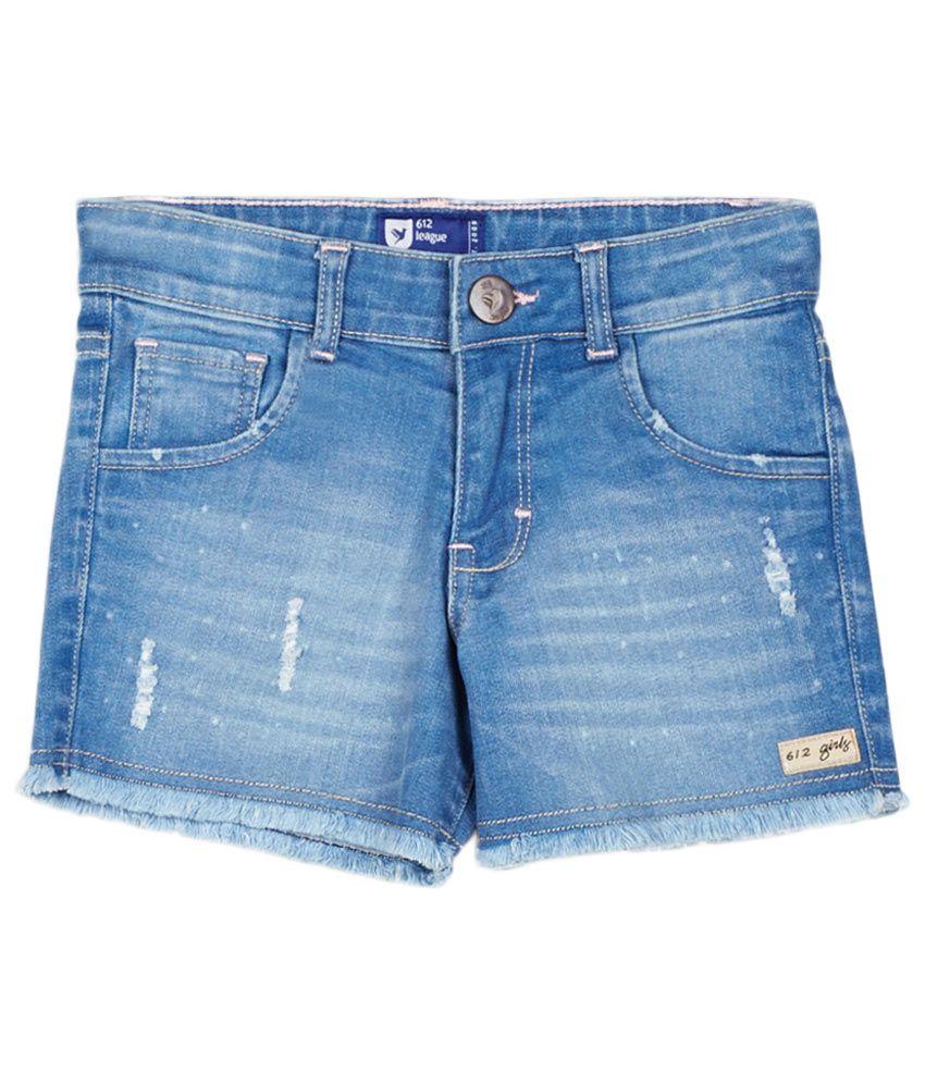 612 League Blue Skirt set