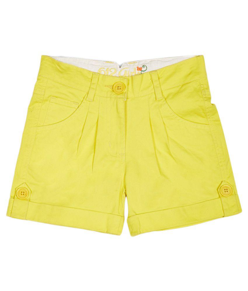 612 League Yellow Skirt set