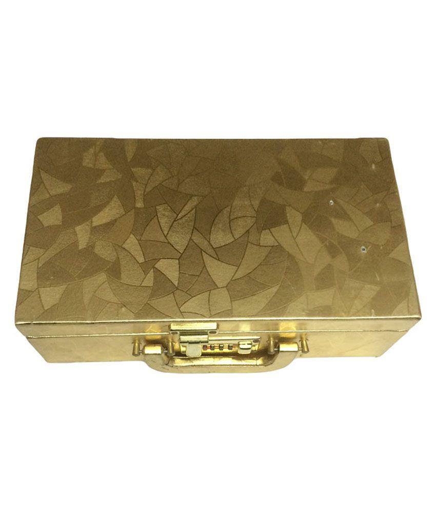 New Fancy Shingar House Golden Bangle Box Set Of 1