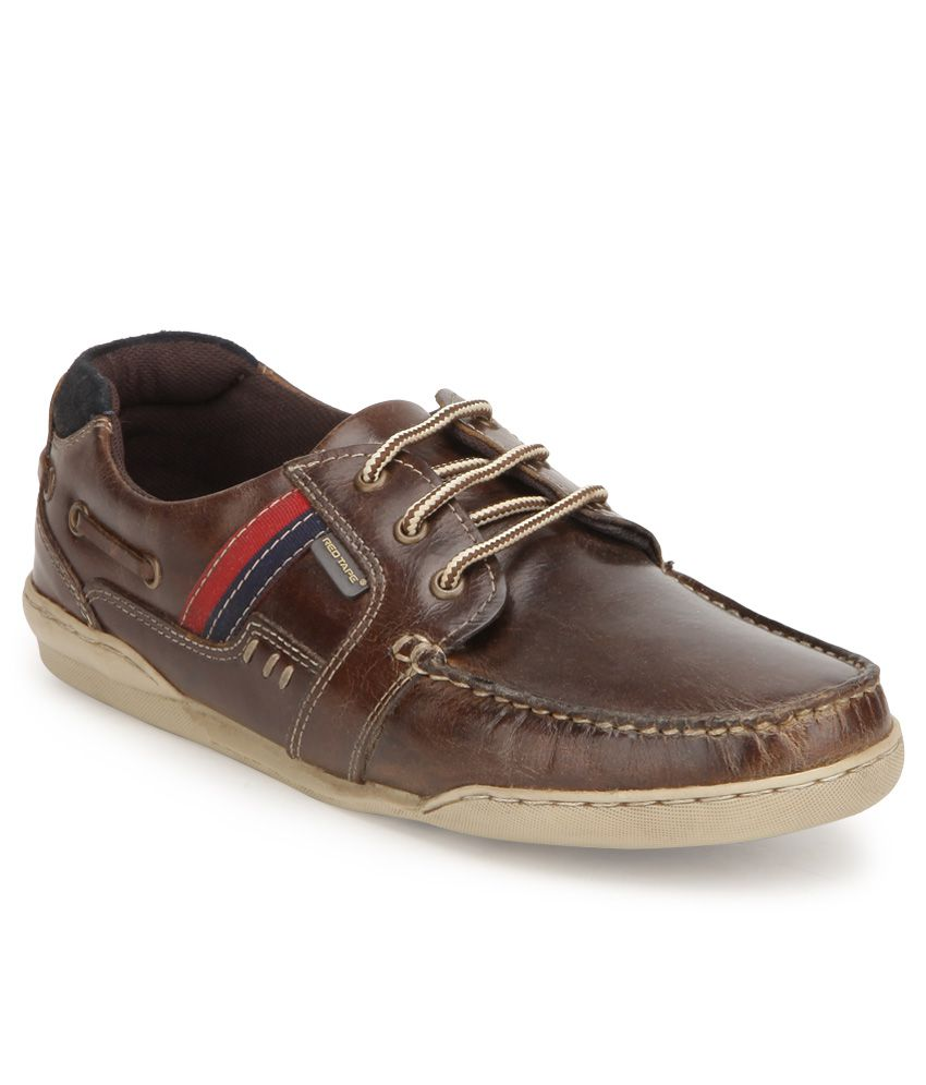 Red Tape Brown Boat Style Shoes - Buy Red Tape Brown Boat ...