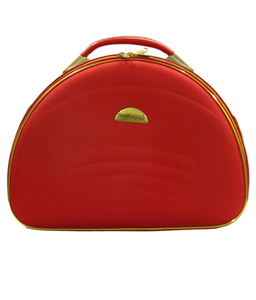 Ocean Enterprises Makeup And Jewellery Vanity Box - Red