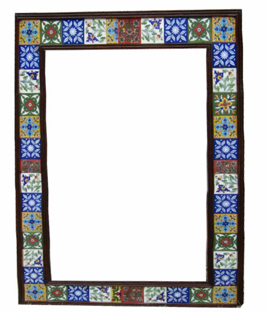 Om Vinayak Arts Mango Wood Photo Frame - Set Of 2: Buy Om Vinayak ...