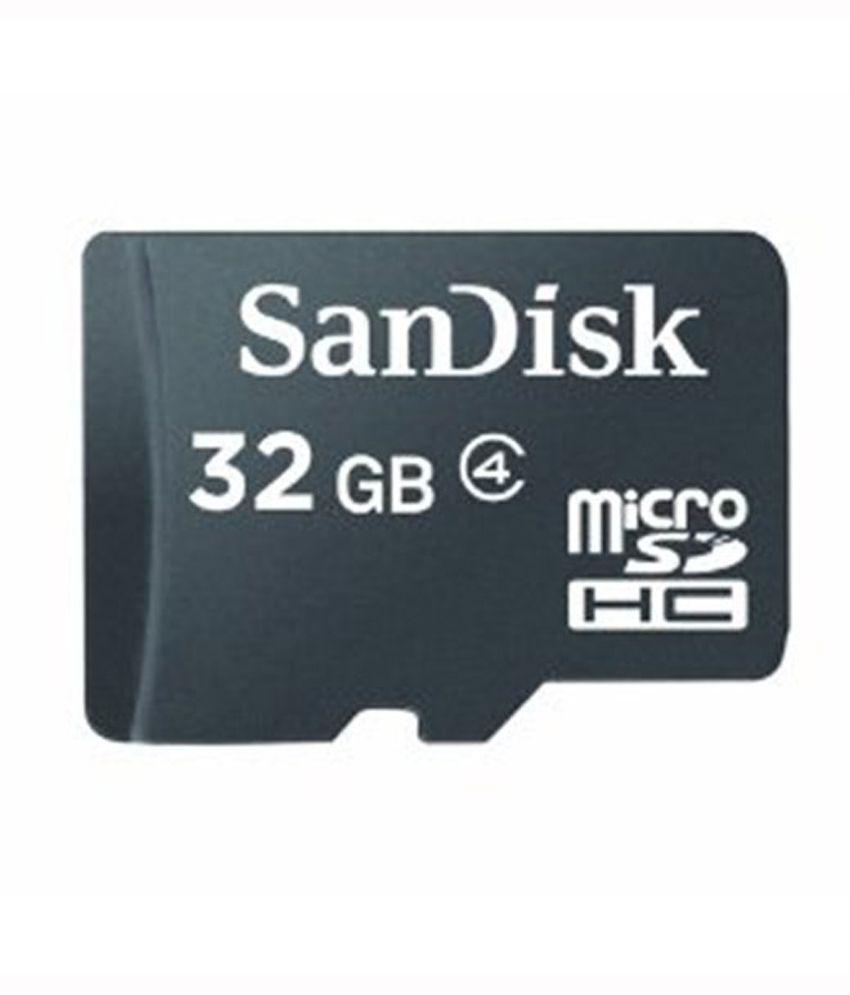 SanDisk 32 GB Class 4 Memory Card