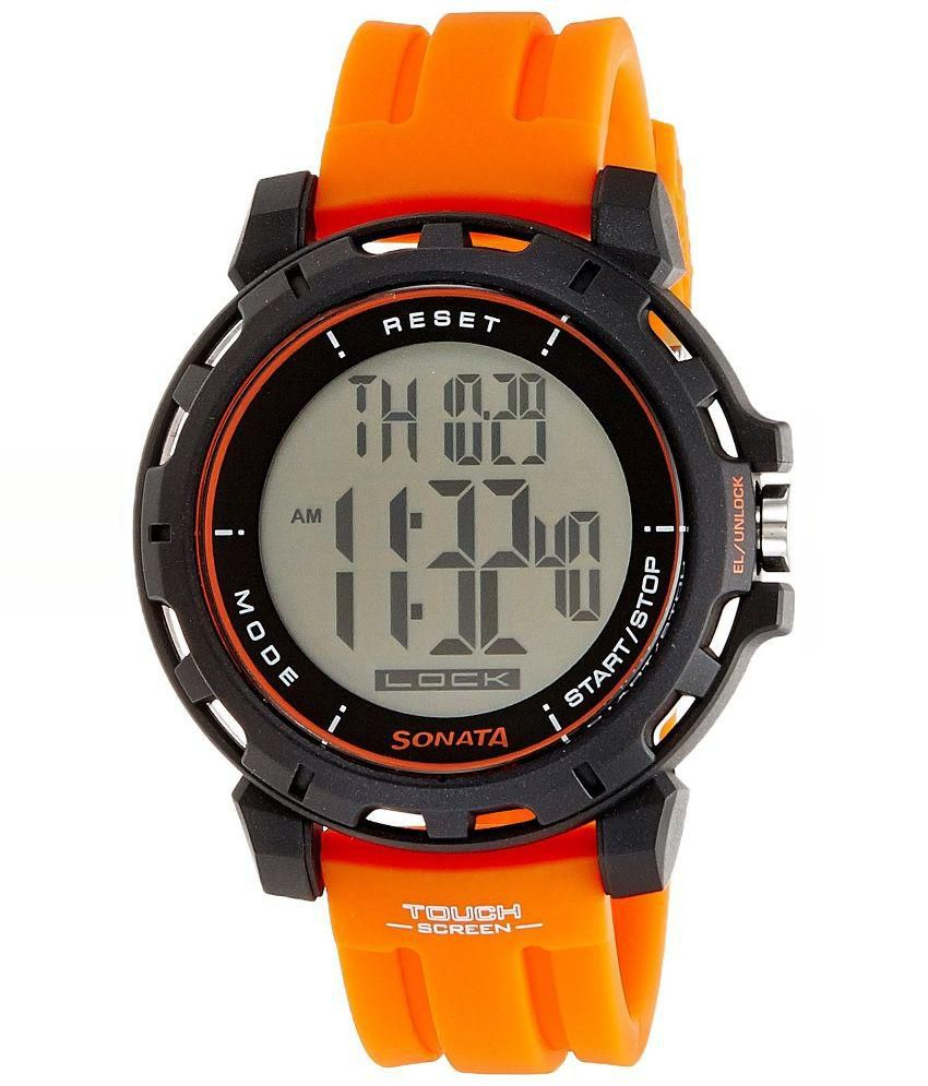 waterproof men pu sports with skmei band s watch wristwatch digital watches zoom