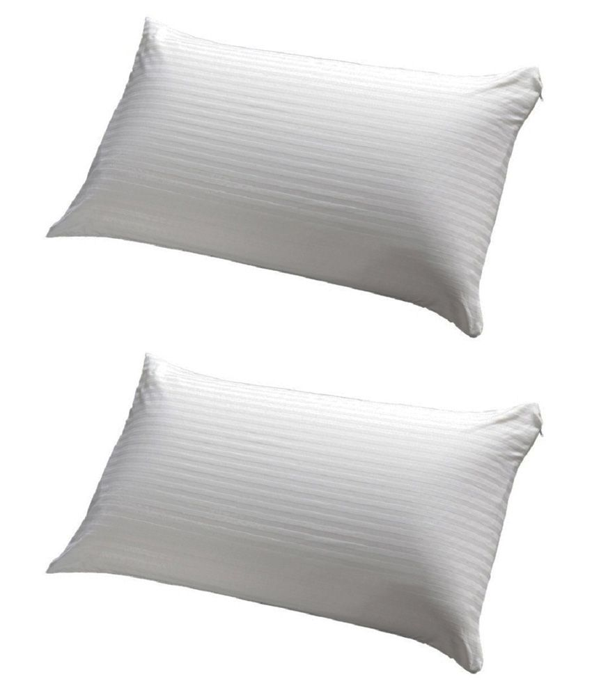 Jdx White Pillow Pack Of 2