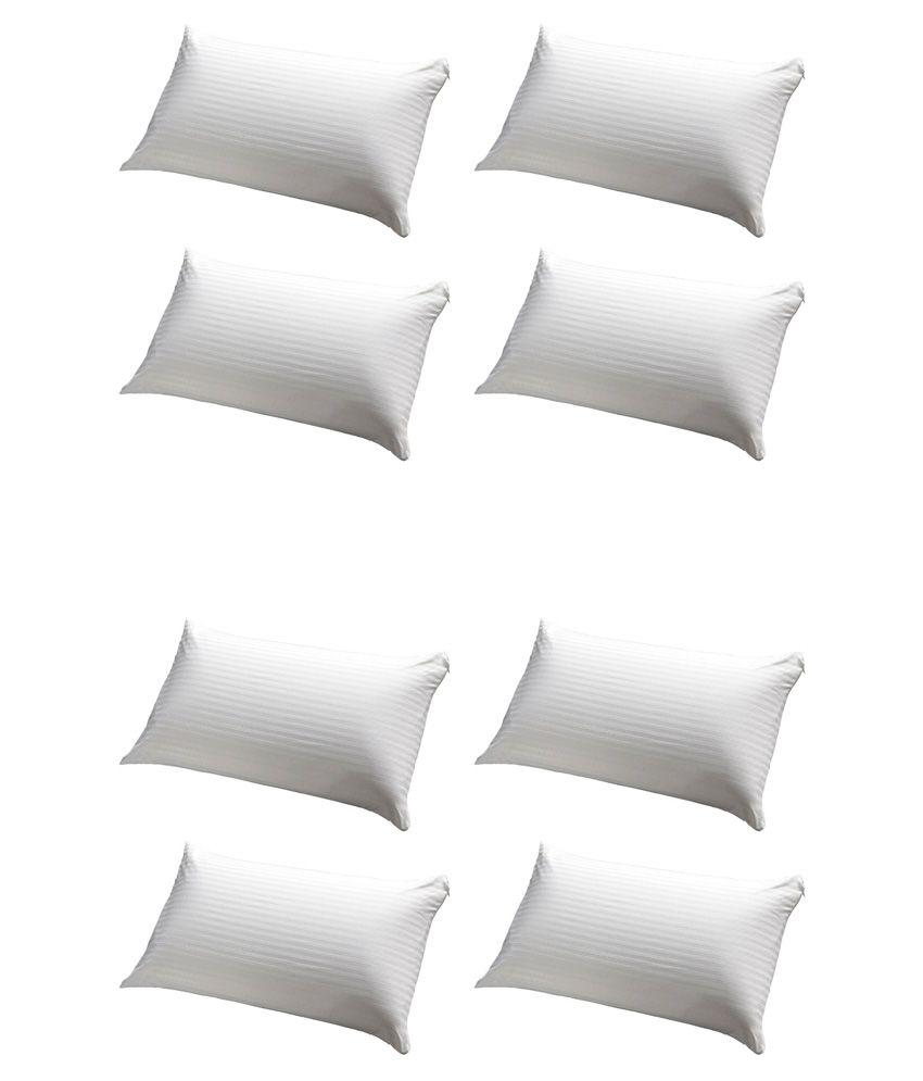 Jdx White Pillow Pack Of 8