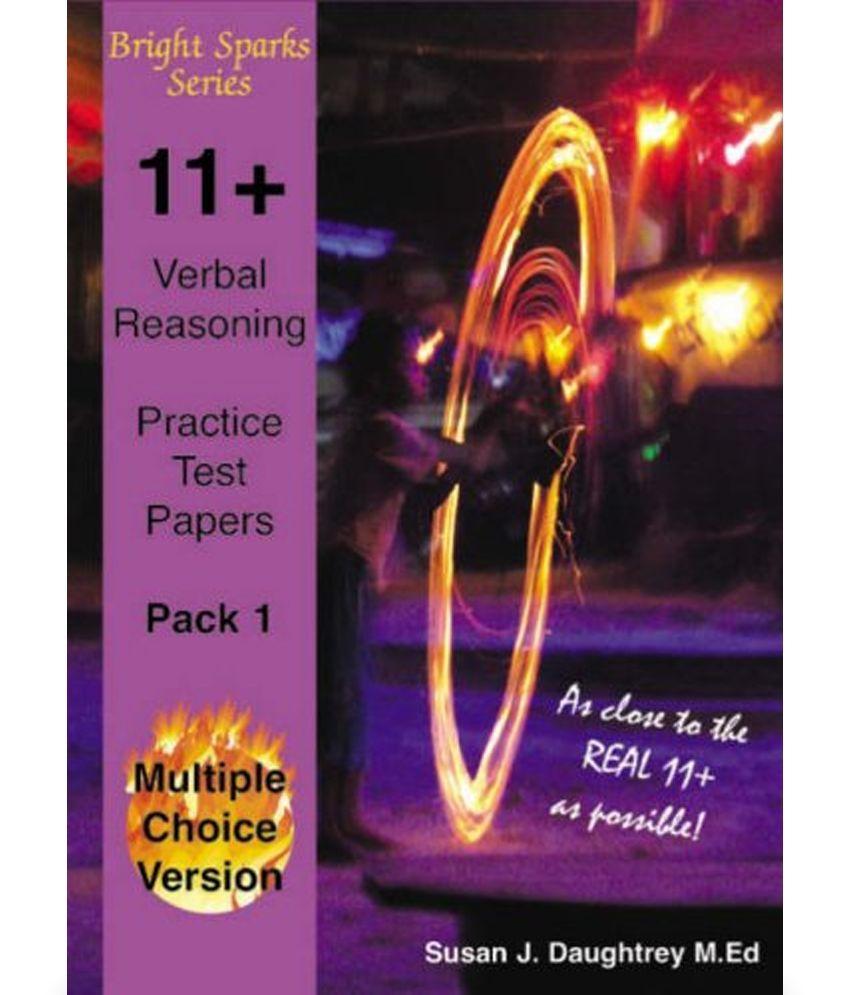 11 Verbal Reasoning Test Papers: Buy 11 Verbal Reasoning