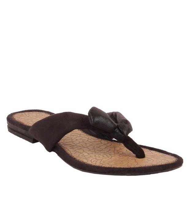 Glamwalk Brown Flat Slip-on