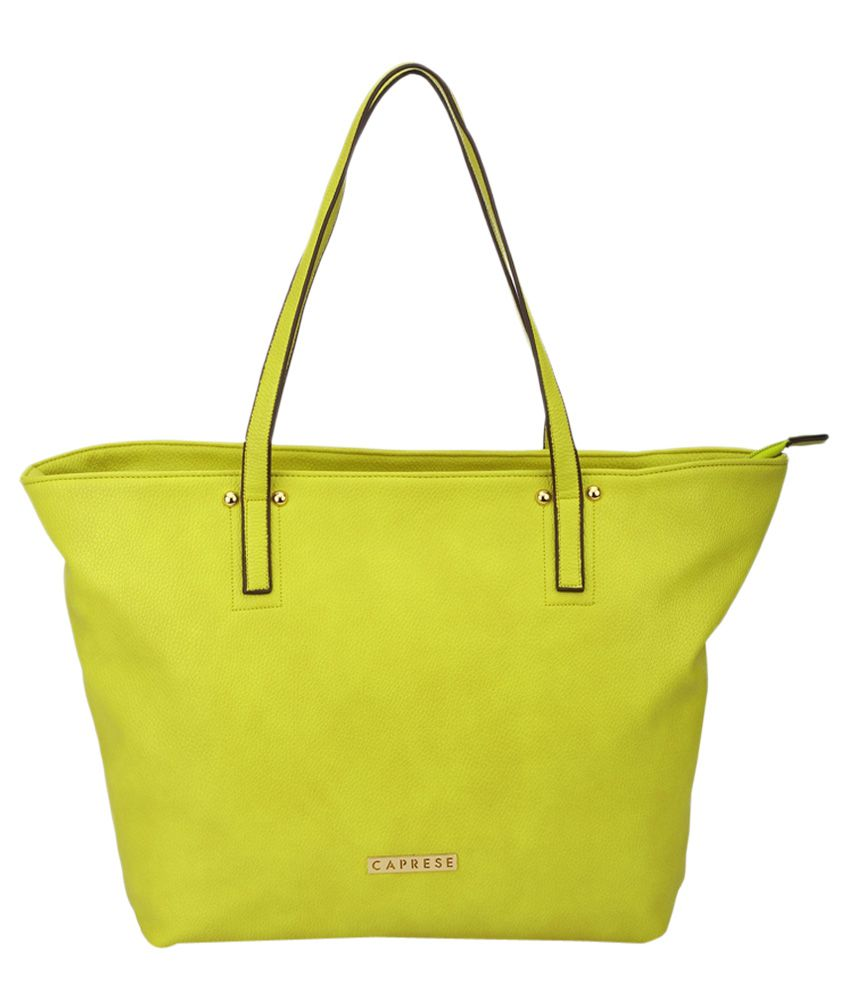 eb2f7fbf2c CAPRESE Alice Tote Large Lime - Buy CAPRESE Alice Tote Large Lime Online at  Best Prices in India on Snapdeal