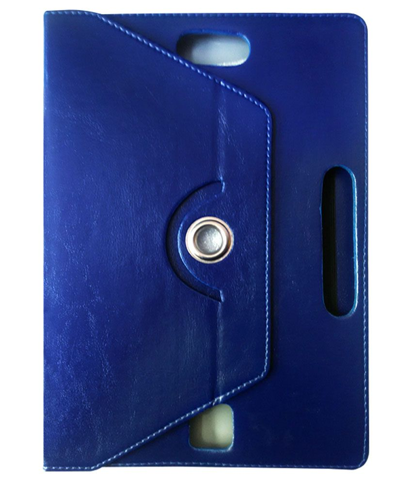 Fastway 360 Degree Rotating Tablet Book Cover For Samsung Galaxy Tab 3 Gt - P5200 (16 Gb, 3g Wifi) - Blue