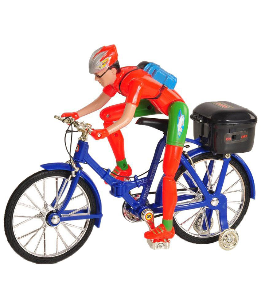 Rana Traders Rana Traders Multicolor Electric Bike Toy
