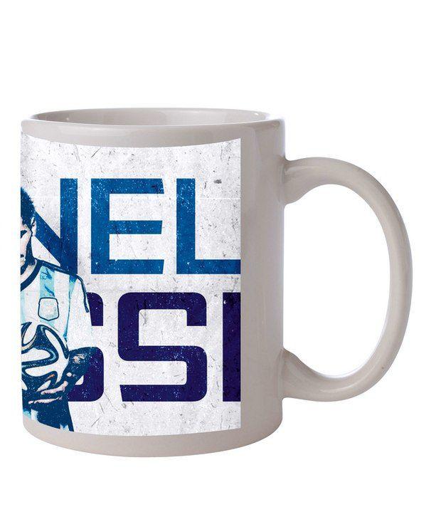 Zanky Lionel Messi- Multicolor Printed Coffee Mug (Pack of 1)