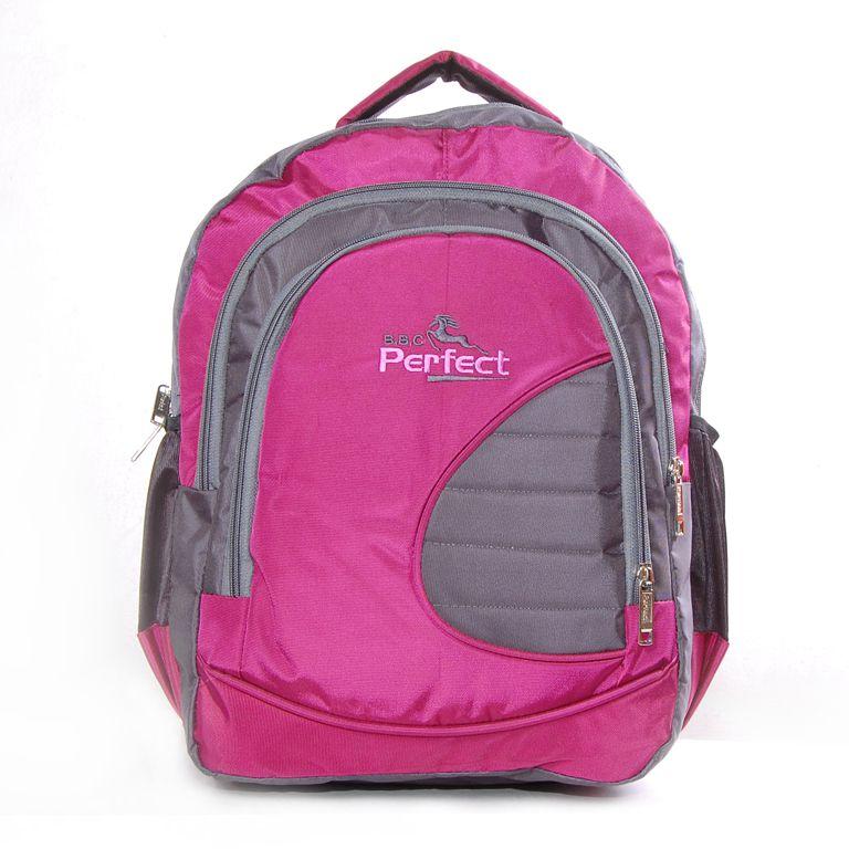 BBC Perfect Pink and Grey Laptop Bag