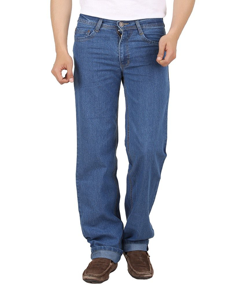 Maks Blue Relaxed Jeans