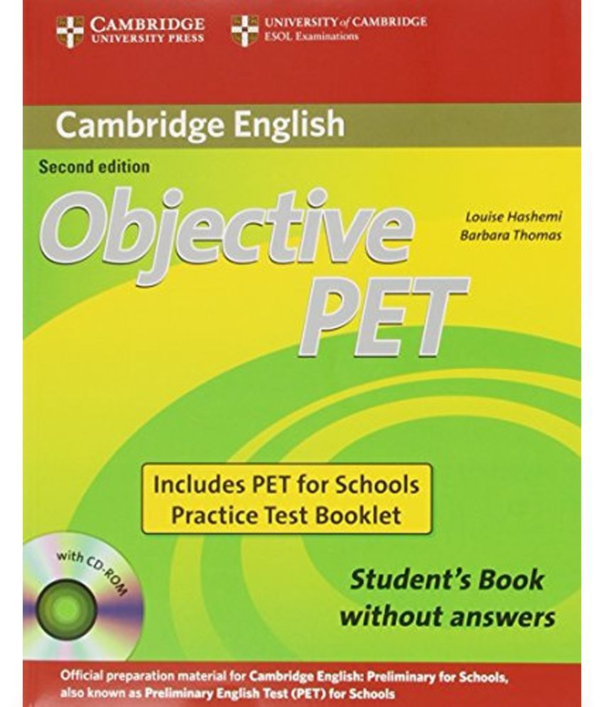 Objective First Students Book With Answers
