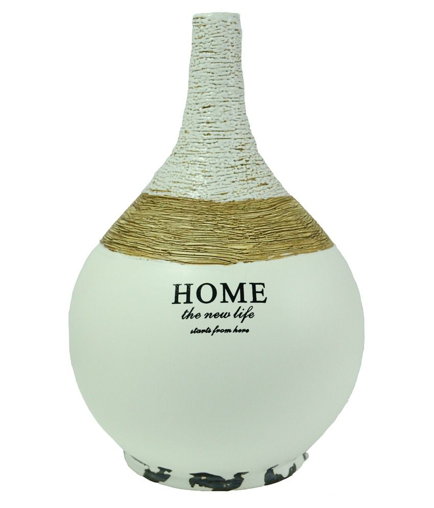 Indian Decor Company Blue Pottery Vase
