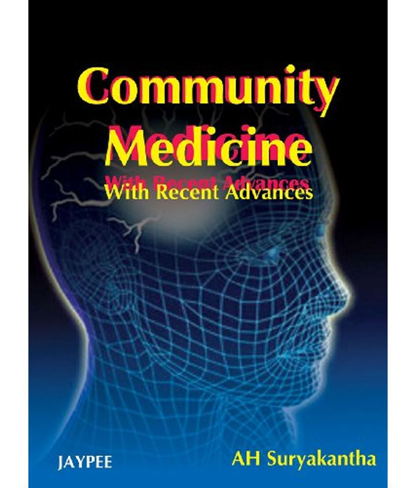 Community Medicine With Recent Advances Buy Community Medicine With