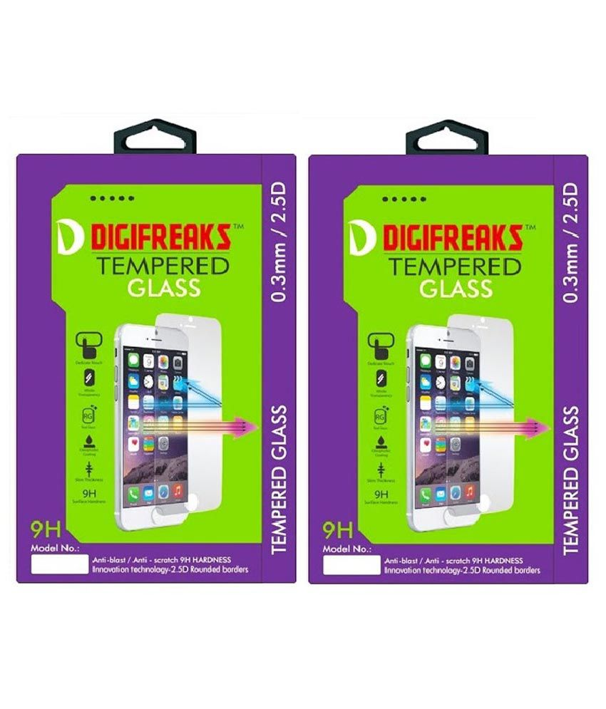 Huawei Honor 4x Tempered Glass Screen Guard by Digifreaks
