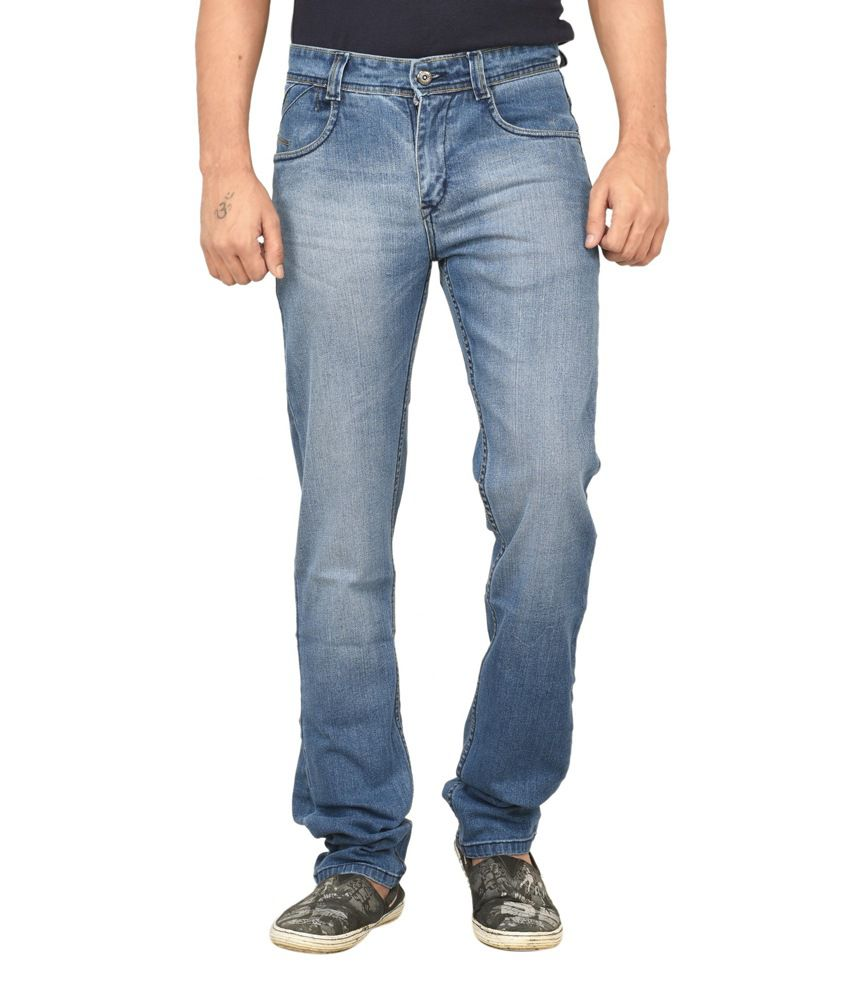 Gamps Blue Regular Fit Jeans
