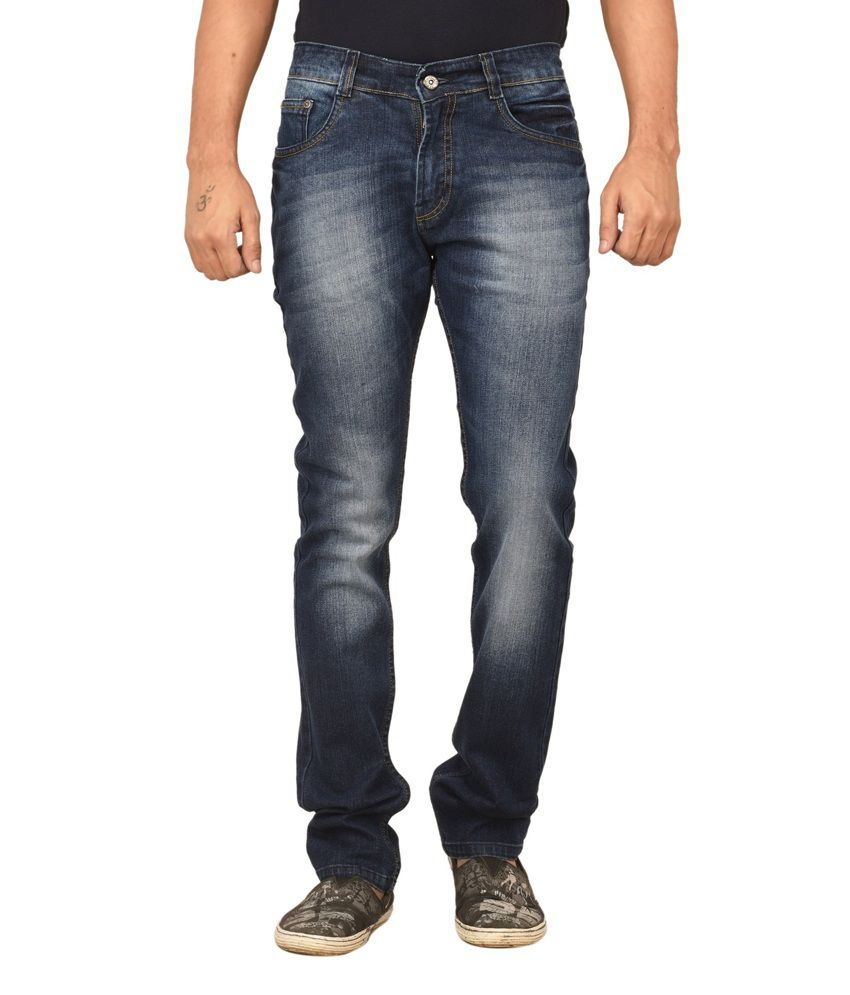 Gamps Blue Skinny Fit Jeans
