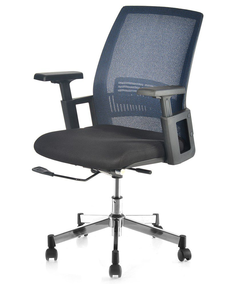 Nilkamal Edric Medium Back fice Chair