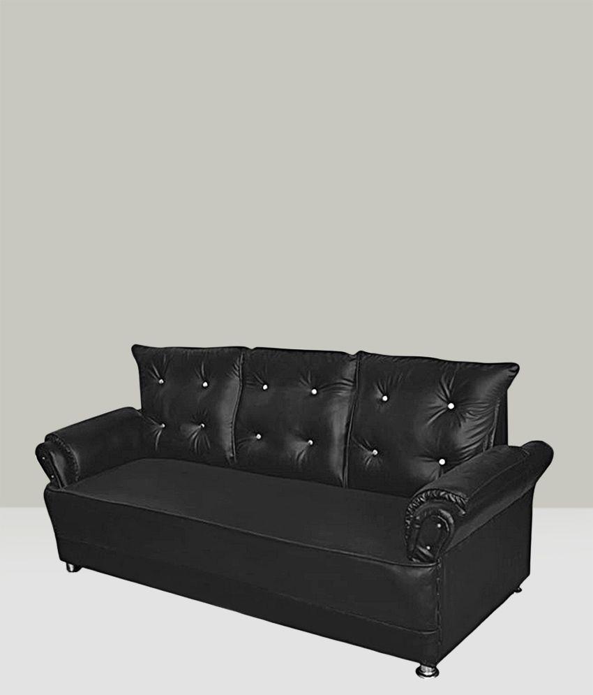Cozy seatings seabury leatherette 9 seater sofa set 3 2 1 for 9 seater sofa set