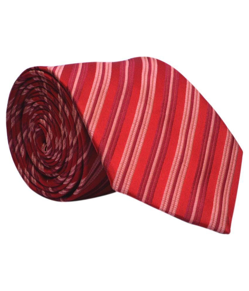Calvadoss Multicolour Formal Broad Tie For Men