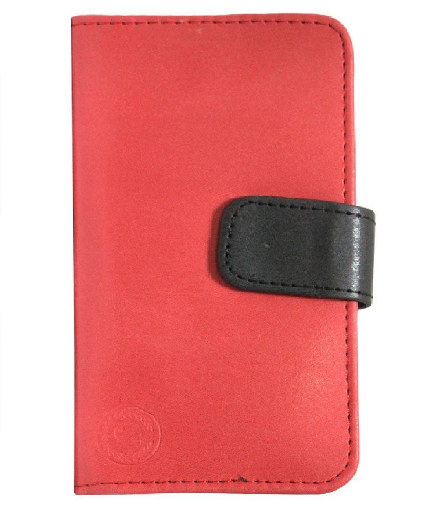 Jo-Jo-Wallet-Pouch-For-Iball-Andi-3.5f-Grabit--Red