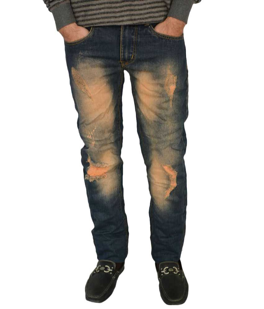 Evanzo Blue Slim Fit Jeans