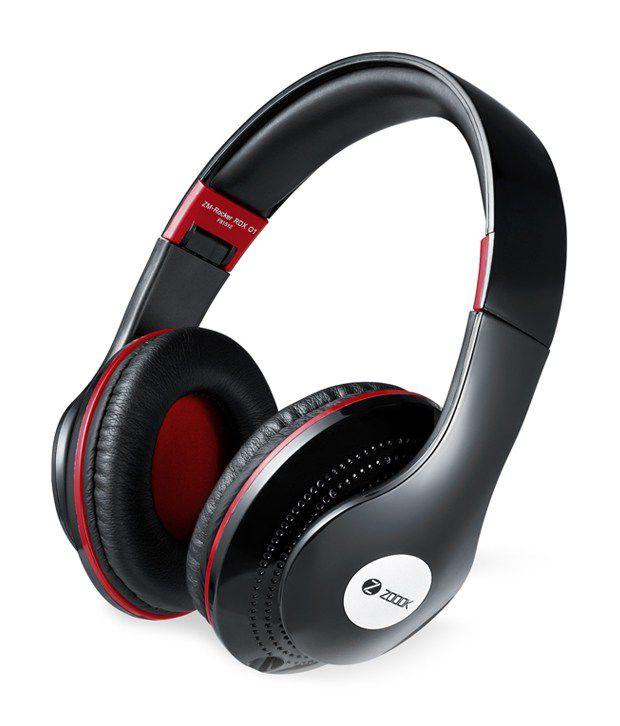 Zoook Over Ear Wired With Mic Headphones/Earphones