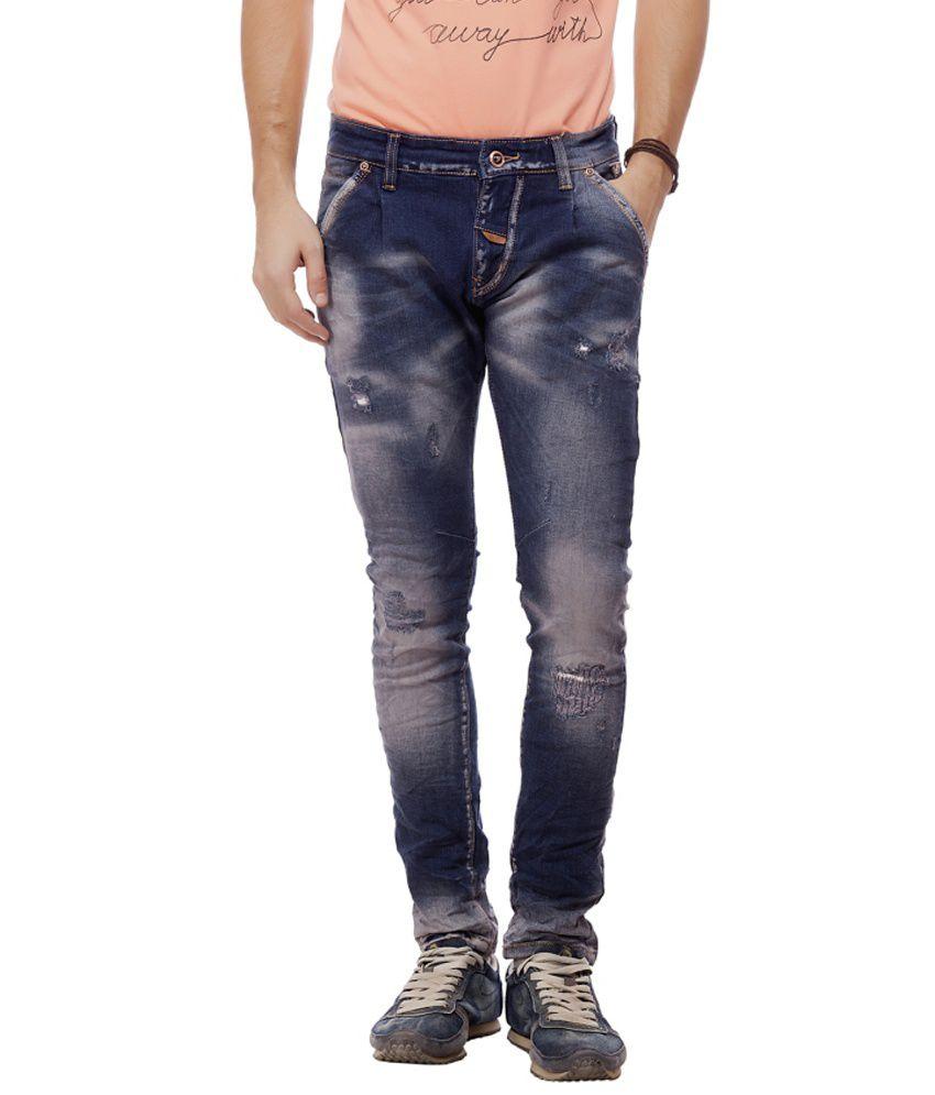 Jimmy And Jordan Blue Slim Fit Jeans